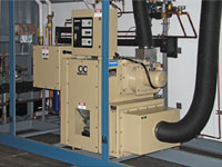 Desiccant Drier System Inside Bemco Conditioning System