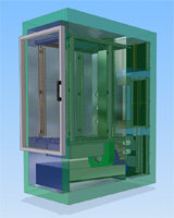 KDZ1 Individual Bay Stress Screening Chamber